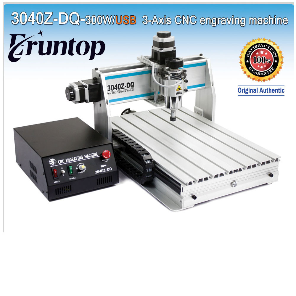 300W Three-axis Ball Screw CNC Router Engraver Engraving Milling Drilling Cutting Machine CNC 3040 Z-DQ USB eur free tax cnc 6040z frame of engraving and milling machine for diy cnc router