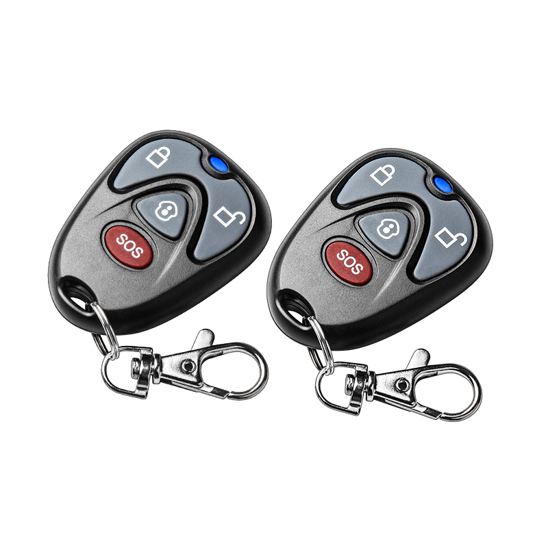 2pcs golden security wireless remote control for g90b wifi gprs gsm home security alarm system 433mhz home security Alarm System 433MHz Wireless Remote Controller wireless key chain Only For G90B G90E Wifi GSM Alarm System