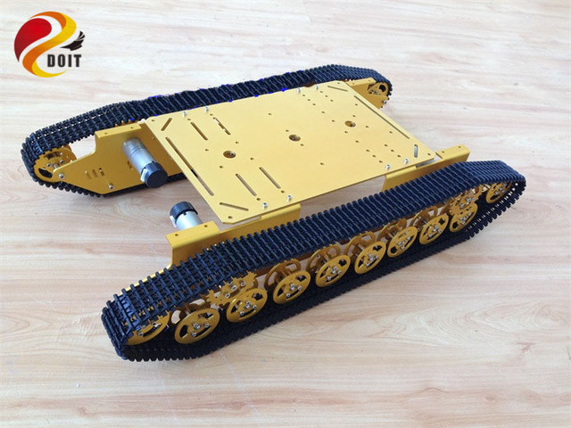 Oficial doit t800 4wd metal wall-e pista tanque caterpillar chassis