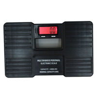 Переносной ЖК-дисплей напольные весы мелкая бытовая багажа микроэлектронные весы 150 кг черный