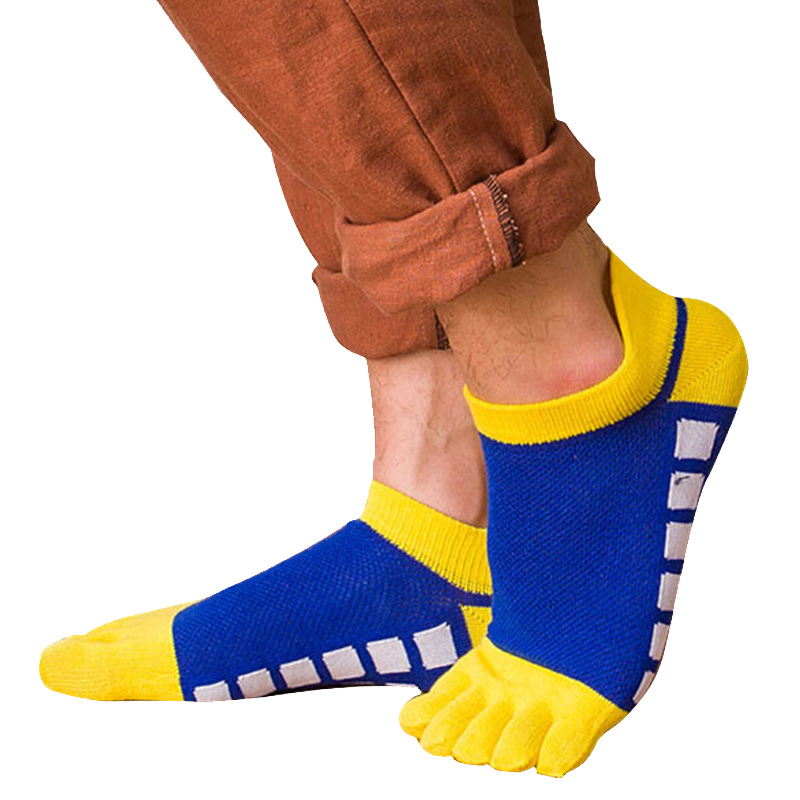 1 Pairs MenS Cotton Toe Socks Fashion Comfortable Cotton Five Finger Sock Casual Calcetines Ankle Sock C551