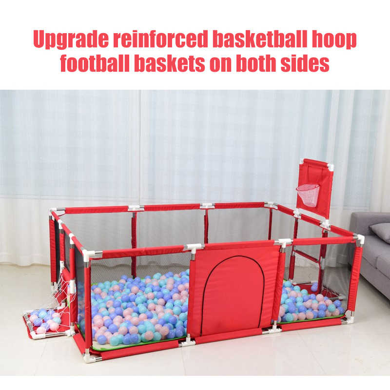IMBABY תינוק לול בטיחות מחסום לולים לילדים ילדים גדר בלוני בור בריכת כדורי ליילוד כדורי משחקים Basketbal