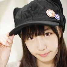 Japanese Anime Neon Genesis Evangelion EVA Asuka Langley Soryu Cosplay Cat  Ears Hat 3bb4d3b8a80d
