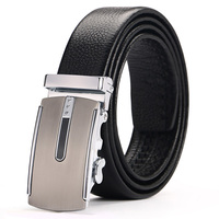 Belt Men Top Quality Genuine Luxury Leather Belts For Men Strap Male Metal Automatic Buckle New