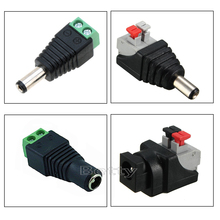 5/50/100 pcs Free shipping DC Connector for LED Strip Free Welding LED Strip Adapter Connector Male or Female connector цена 2017