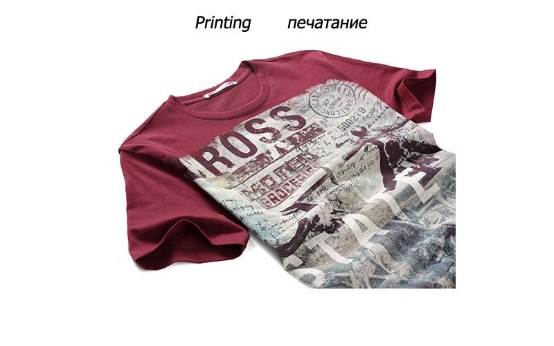 E-BAIHUI Summer Men Cotton Clothing Dsq T-shirtS Camisetas t shirt Fitness tops TeeS Skateboard Moleton mens t-shirts Y032 13