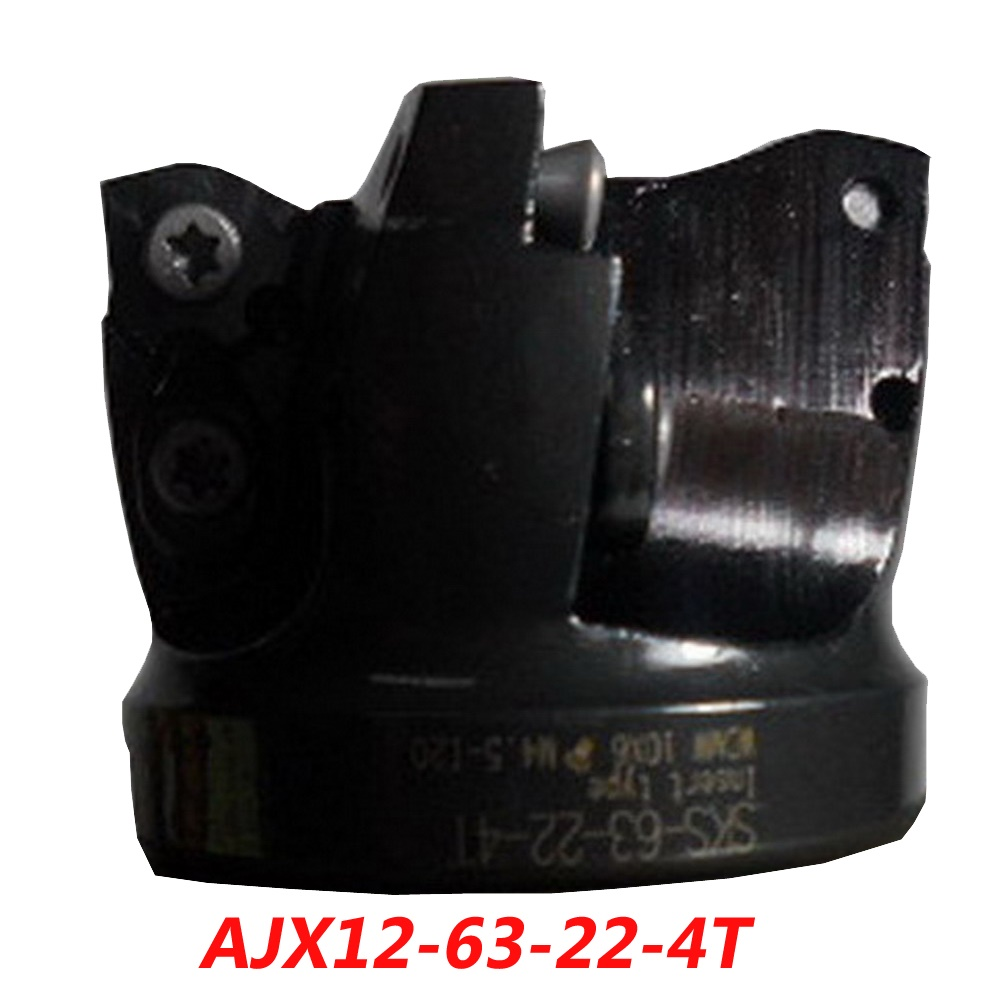Free Shipping AJX12-63-22-4T High Feedrate Face Milling Cutter For MITSUBISHI Insert JDMW/T120420ZDSR