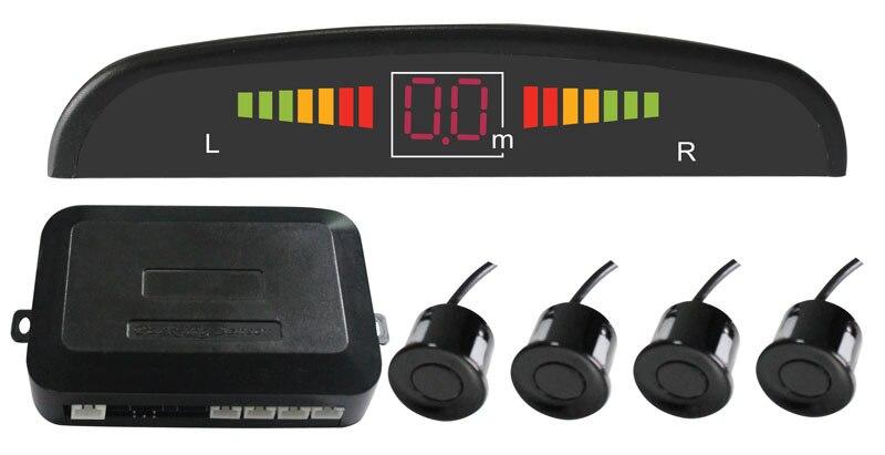 Car LED Parking Sensor Assistance Reverse Backup Radar font b Monitor b font System Backlight Display