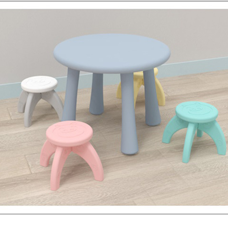 Dropshipping Thickening Mini Stool Children Cartoon Folding Stools Non Slip Creative Plastic Bench Portable Firm Chair Baby Seat