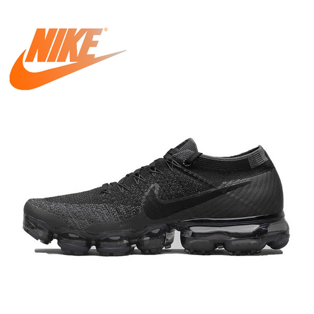 dd1dfeccfc83d Оригинальный Официальный Nike Air VaporMax быть истинным Flyknit дышащий  для мужчин's бег уличная спортивная обувь низкий