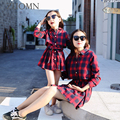 Family Matching Mother And Daughter Dresses Family Look Outfits Mommy and Me Clothes Baby Girls Kids Clothing Mom Dress GH410