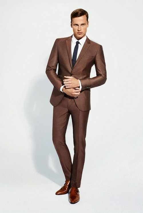 Brown Prom Suits - Go Suits