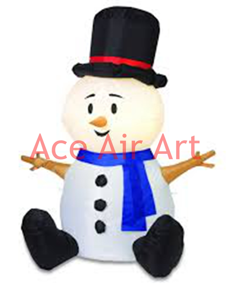 cute 2mH inflatable outdoor Christmas decoration inflatable ...