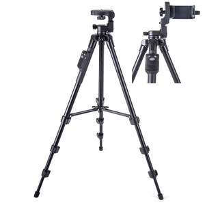 Image 2 - Yunteng 5218 treppiede per fotocamera autoritratto monopiede Bluetooth telecomando Clip per telefono Selfie