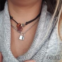 Michael Kors Padlock Pendant Necklace