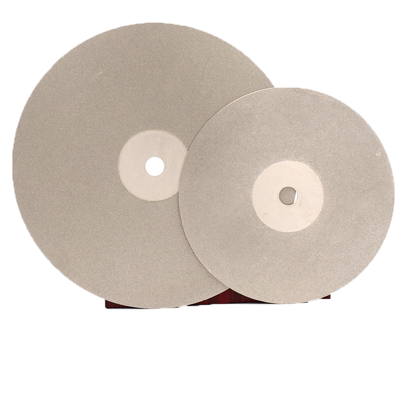 6 Inch 150mm 16mm/20mm Arbor Diamond Coated Flat Lap Disc Wheel Jewelry Grinding Polishing Disc Tool 80-3000 Grit