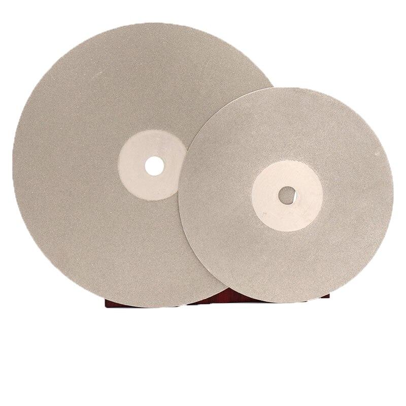 6 Inch 150mm 16mm/20mm Arbor Diamond Coated Flat Lap Disc Wheel Jewelry Grinding Polishing Disc Tool 80-3000 Grit