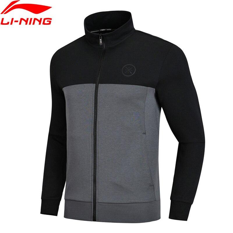 Li Ning Men Wade Series Hoodie Regular Fit 82 Cotton 18 Polyester Comfort LiNing Sports Tops