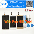 For Xiaomi Redmi 3X LCD+Touch Screen+Tool High Quality 100% New Digitizer Glass Panel For Xiaomi Redmi 3X/3 5.0 Inch