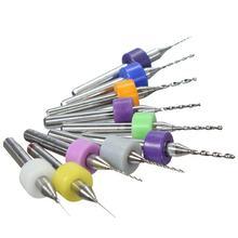 Coffret 10x 0.3-1.2mm PCB Petit Foret Fraises un Circuit d'épercage rotatif