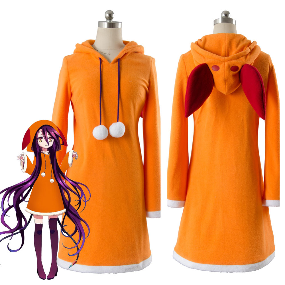 No Game NO Life Zero Shuvi Dola Cosplay Costume Dress Halloween Carnival Costume