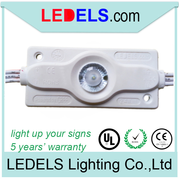 Injection backlight led Modules,Lightbox led modul signage back light led 2.4Watt 160~200Lumens for high brightness 5 years
