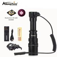 AloneFire X490 5W 850nm IR Flashlight lnfrared Radiation IR 850nm LED Lamp(Fill Light for Night Vision Device)LED Flashlight