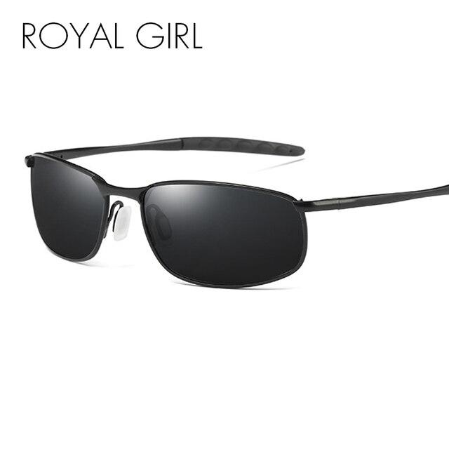 8237752825 ROYAL GIRL New Sunglasses Polarized Men Brand Designer Fashion Night  Driving Male Eyewear Glasses Travel Oculos Gafas ms009