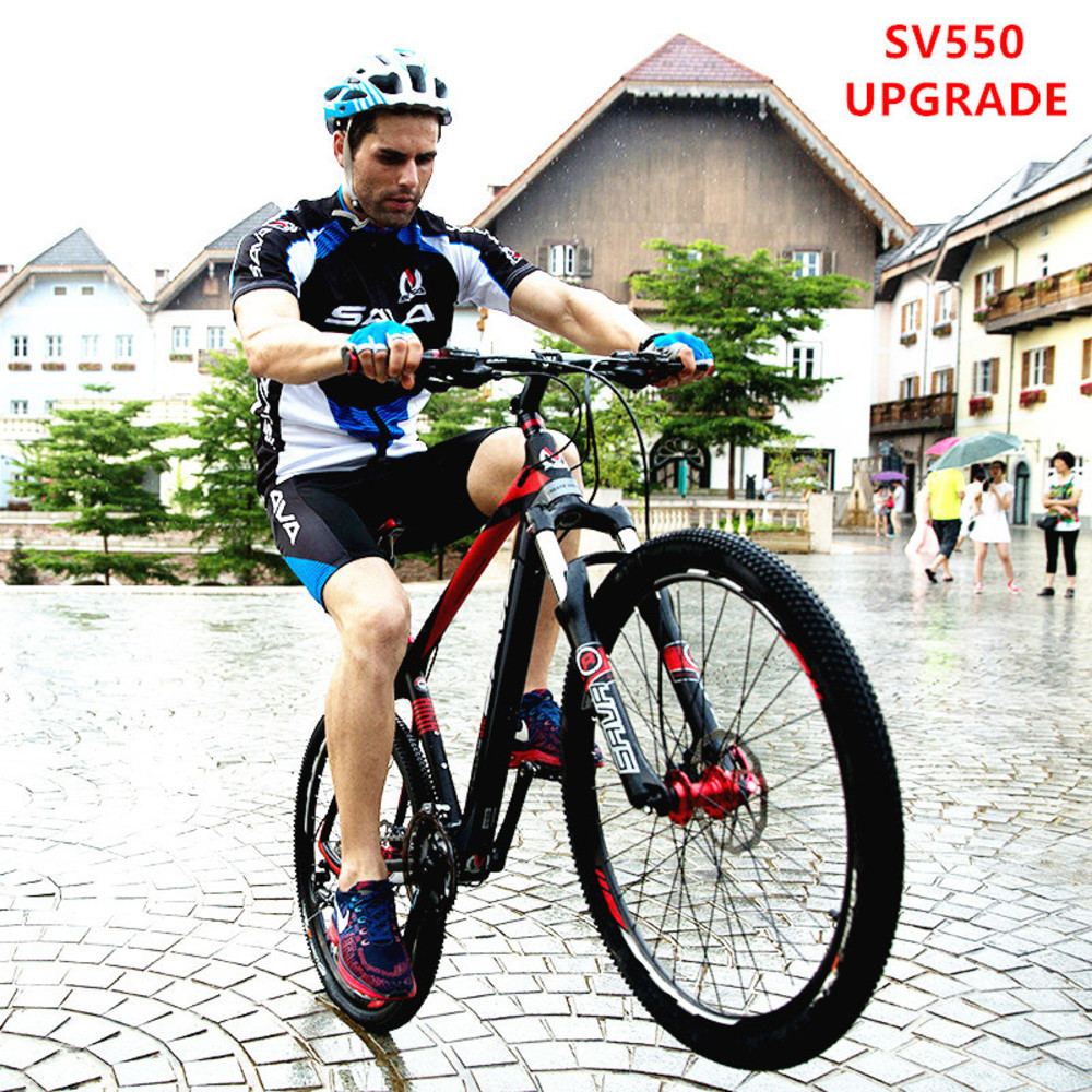 New Brand Mountain Bike Carbon Fiber Frame Shiman0 M370/3000 27 Speed M315 Hydraulic Disc Brake Lockable Suspension Mtb Bicycle