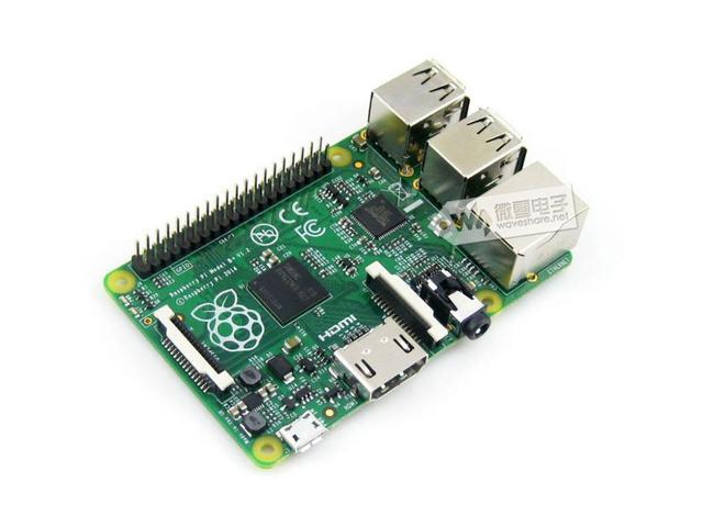 Бесплатная доставка Raspberry Pi Модель B + 512 МБ оперативной памяти сделано в Великобритании