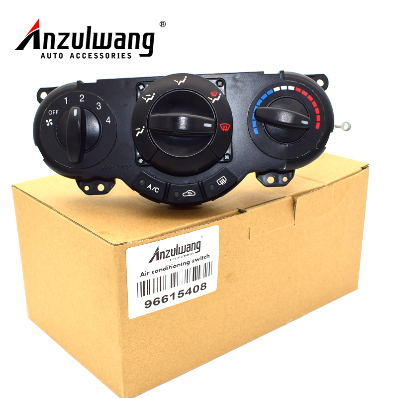 ANZULWANG High quality Air AC Heater Panel Climate Control Assy For Wagon HRV Lacetti Optra Nubira Daewoo 96615408