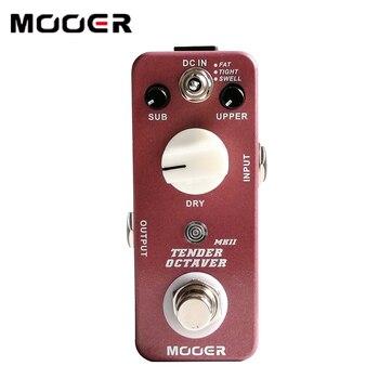 NEW Effect Pedal MOOER Tender Octaver MK II Precise Octave pedal True Bypass switching mooer ensemble king chorus effect pedal true bypas page 3