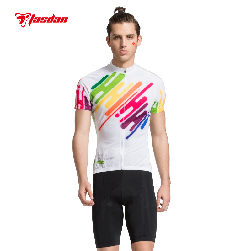 Tasdan Cycling Wear Cycling Clothes Mountain Bikes ClothesMen Cycling Jerseys Sets for Racing Bikers