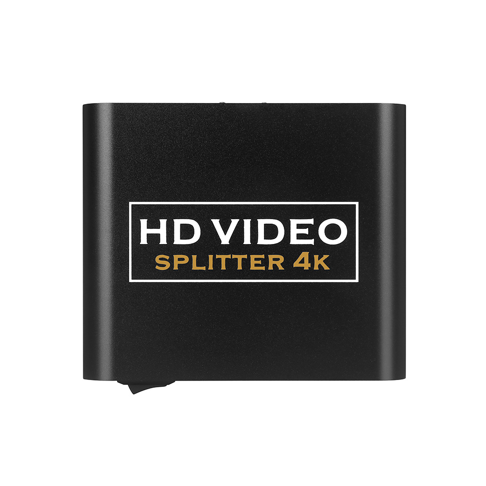 YITROX YT-HS102 1 In 2 Out HDMI Splitter 1X2 One Divides Into Two 1.4 Branch Divider 3D HD Lossless Audio Expansion 4K*2K 5V1A
