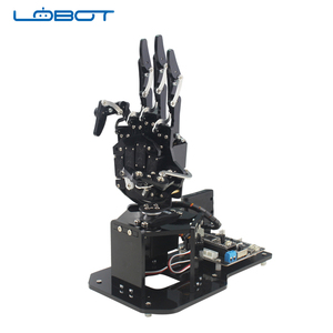 uHand2.0 open source robotic hand / bionic mechanical palm body sense Maker education Arduino / STM32