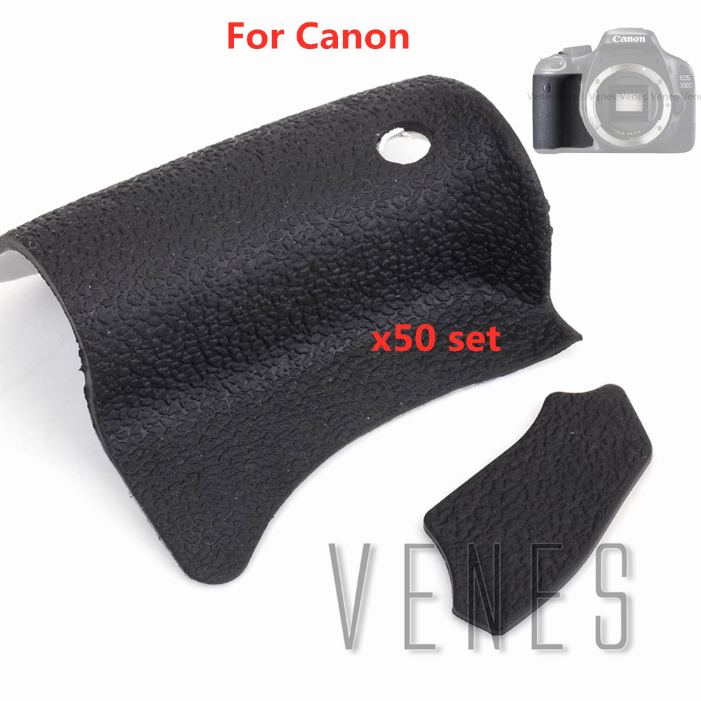 50 set/lot Body Front Back <font><b>Rubber</b></font> <font><b>Cover</b></font> Shell Replacement Part For <font><b>Canon</b></font> <font><b>EOS</b></font> <font><b>550D</b></font> Digital Camera Repair image