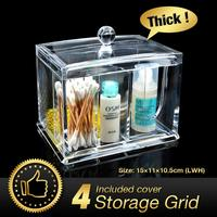 Cheap 49 Off Acrylic Makeup Organizer Clear Makeup Lipstick Cotton Pad Cosmetic Display Storage Rack Holder