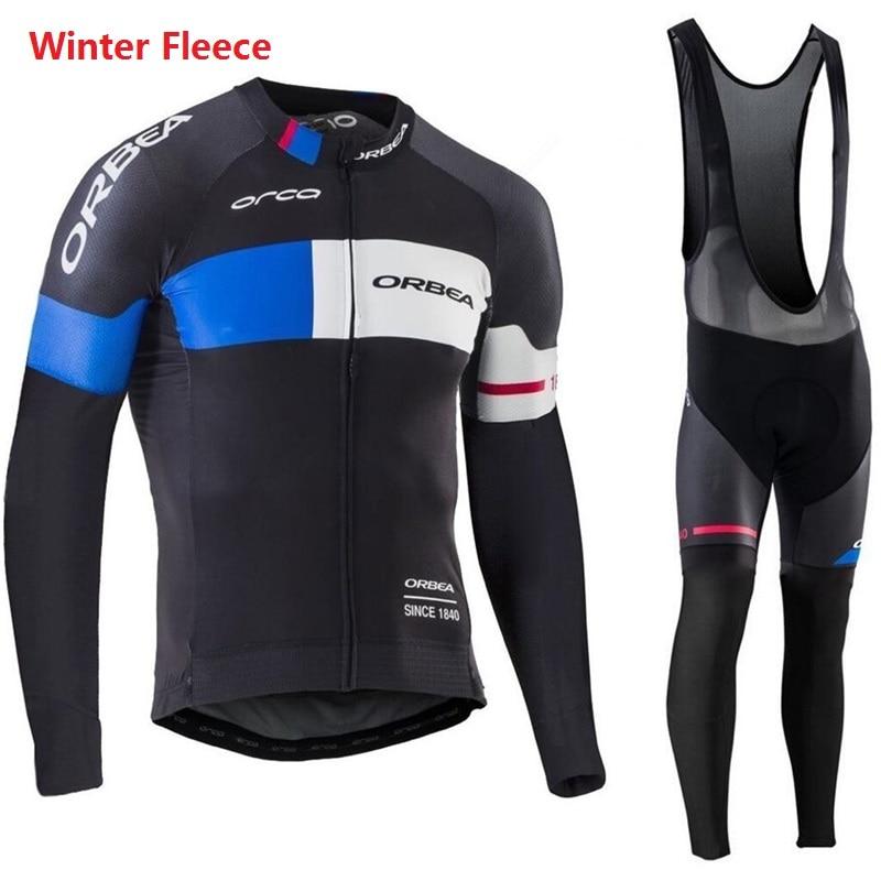 2017 команда про сайт orbea Велоспорт одежда зимняя термальная руно зима мем велоспорта MTB велосипед Ропа ciclismo цикл Спортивная одежда