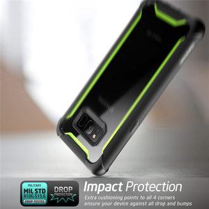 "Image 4 - Original I BlasonสำหรับSamsung Galaxy S8กรณี5.8 ""Ares Series Bumper Bumper Case built In Screen Protector"