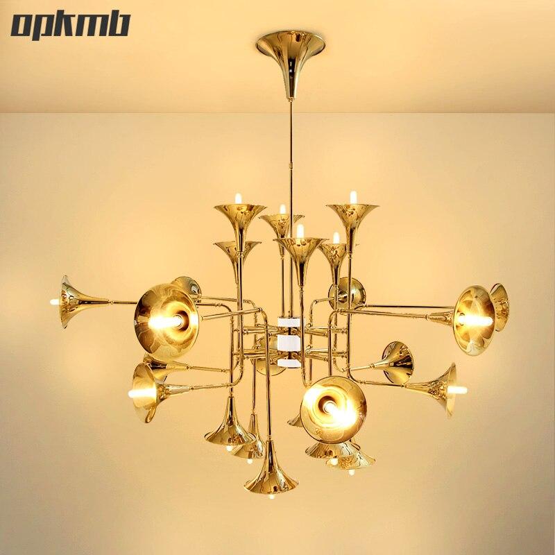 Dekorative Poty Kronleuchter Nordic Horn LED Lampe Moderne Wohnzimmer Villa Projekt Beleuchtung