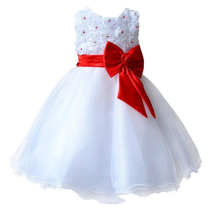 2016 Vestido Infantil Flor Niñas Princesa Del Desfile Del Vestido de ...