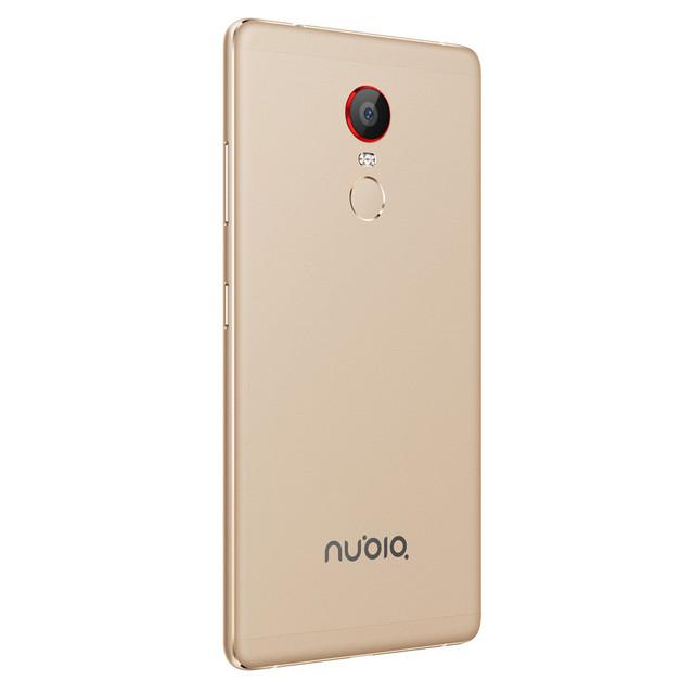 Original ZTE Nubia Z11 Max 6.0 inch Mobile Phone 4GB RAM Snapdragon 652 Octa Core 64GB  16MP Dual SIM 4000mAh