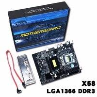 X58 1336 Motherboard LGA1366 Support DDR3 Memory USB2.0 24/7 SATA 3Gb/s Connector