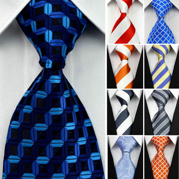 "4""/10cm Wide Men's Wedding Suit Jacquard Ties"