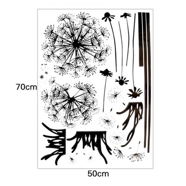 Dandelion Wall Sticker PVC