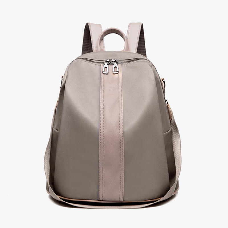 Women Light and fashionable Black Backpack luxury brand Small Casual Rucksack School Leisure tide Teenager Travel Back Pack