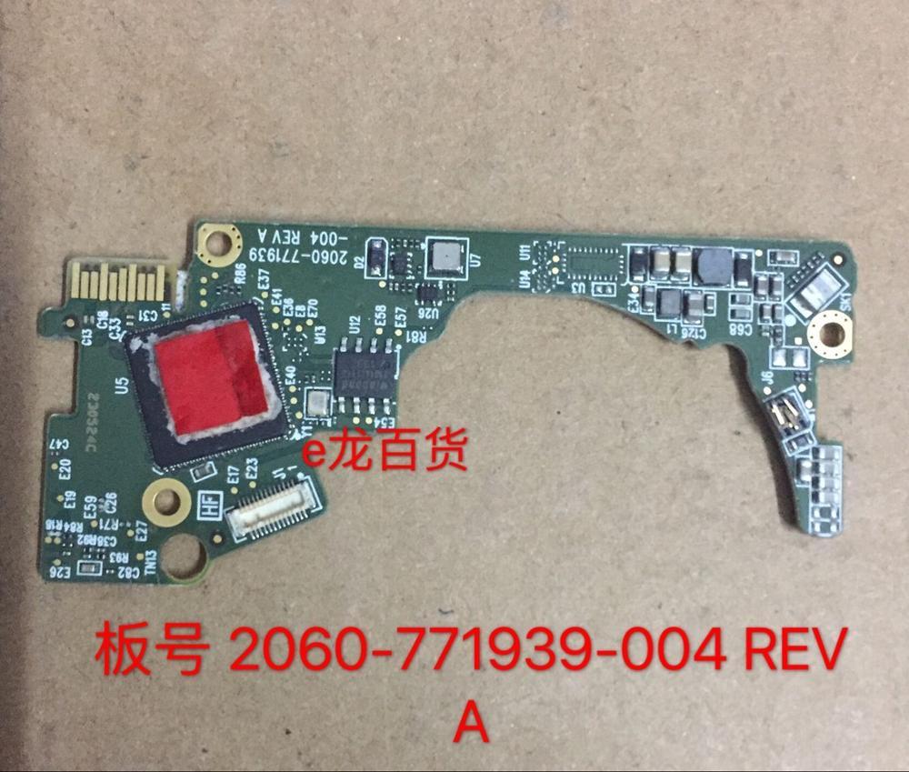 HDD PCB logic board placa de circuito impresso 2060-771939-004 REV Um P1 para WD 2.5 XT SSHD disco rígido de reparação de dados recuperação