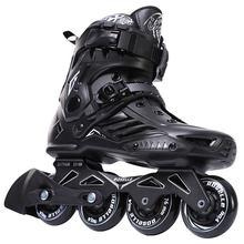 Patins Inline Roller Quad Skate Profissional Street Adulto Feminino Masculino Homem SEBA Slalom Patins De 4 Roda Roller Skate Inline Skate