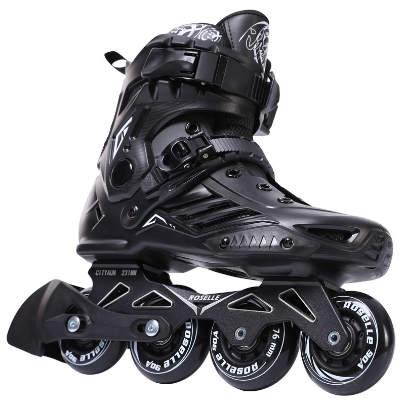 Inline Speed Skates Shoes Hockey Roller Skates Sneakers Rollers Women Men Roller Skates For Adults Skates Inline Professional professional roller shoes speed roller inline skates speed skating roller skates 4 inline wheels