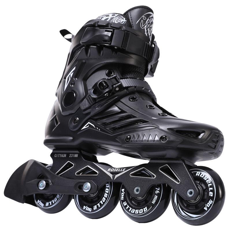 Inline Vitesse Patins Chaussures Hockey Sur Patins à roulettes Sneakers Rouleaux Femmes Hommes Patins à roulettes Pour Les Adultes Patins Inline Professionnel